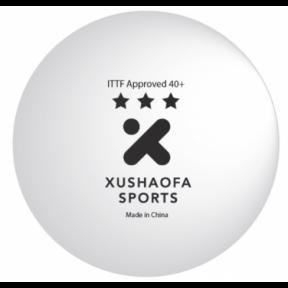 М'ячі пластикові ITTF - XUSHAOFA - 6 ШТ