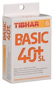 М'ячі TIBHAR BASIC 40+ SL 6 шт