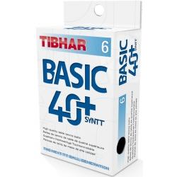 Мячи пластиковые TIBHAR BASIC 40+ NG 6 шт
