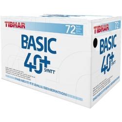 М'ячі пластикові TIBHAR BASIC 40+ NG 72 шт