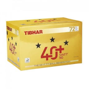 Мячи пластиковые TIBHAR ★★★ 40+ NG 72 шт